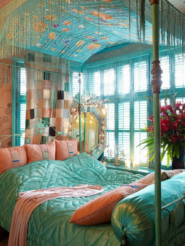 21+ Bohemian Bedroom Decorating Ideas | Royal Furnish on Bohemian Bedroom Ideas  id=17841
