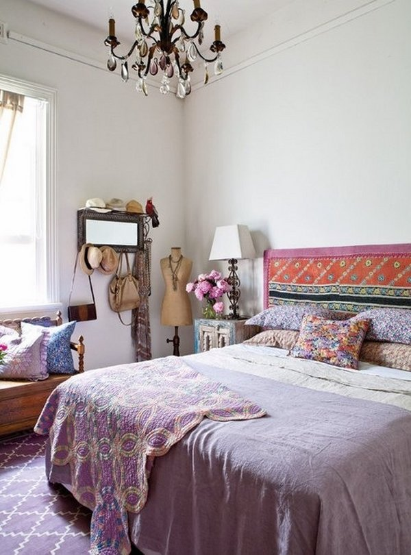 21+ Bohemian Bedroom Decorating Ideas | Royal Furnish on Bohemian Bedroom Ideas  id=52662