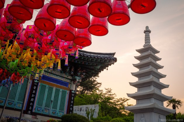 Gyeryong Temple (HDR from single raw file) ISO 800 f/5.6 1/300 Gyeryongsa (계룡사) Temple Geoje, South Korea