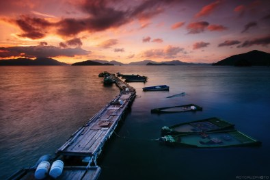 Sunset and Sunken Boats-1
