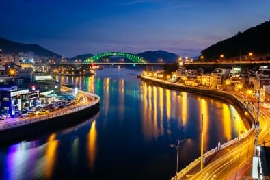 Tongyeong - Bridge Sunset-1