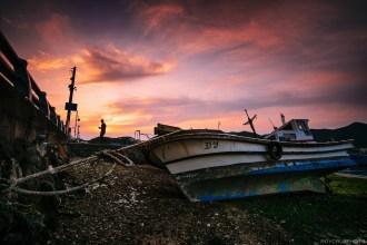 Tongyeong Sunset at Low Tide-1