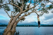 Philippine Street Photographer Sampaloc Lake-1