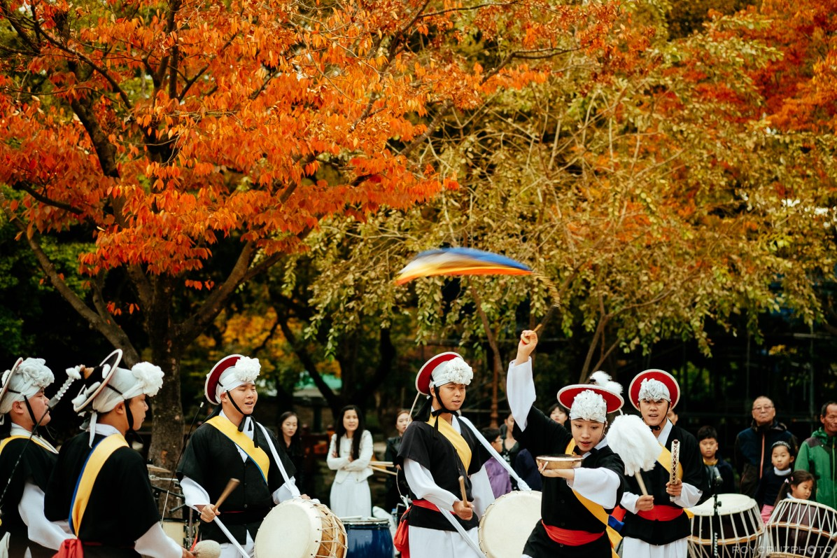 Namwon 광한루원 Samul Nori in Autumn-1