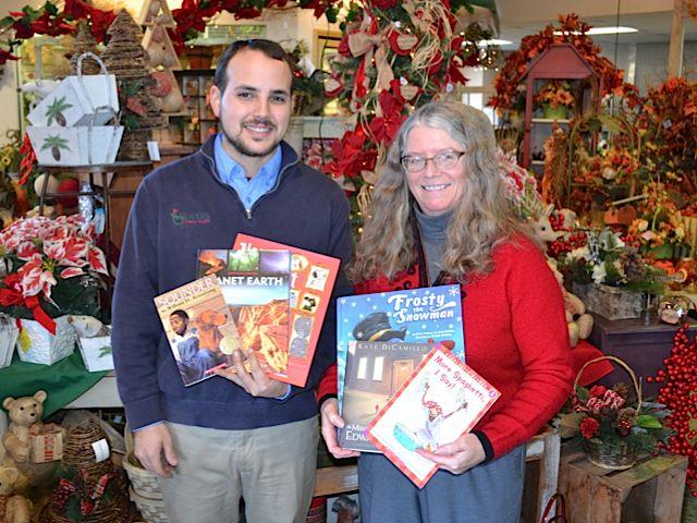 Bouquets for Books returns Nov. 1-8, 2014.