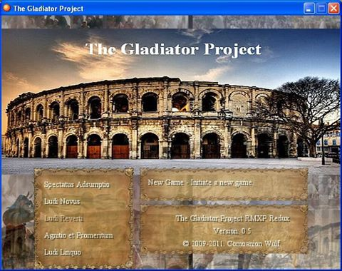 The Gladiator Project – An Old Game Revisited