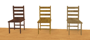Hi-Tex House Pack - Furniture - Chairs Pic