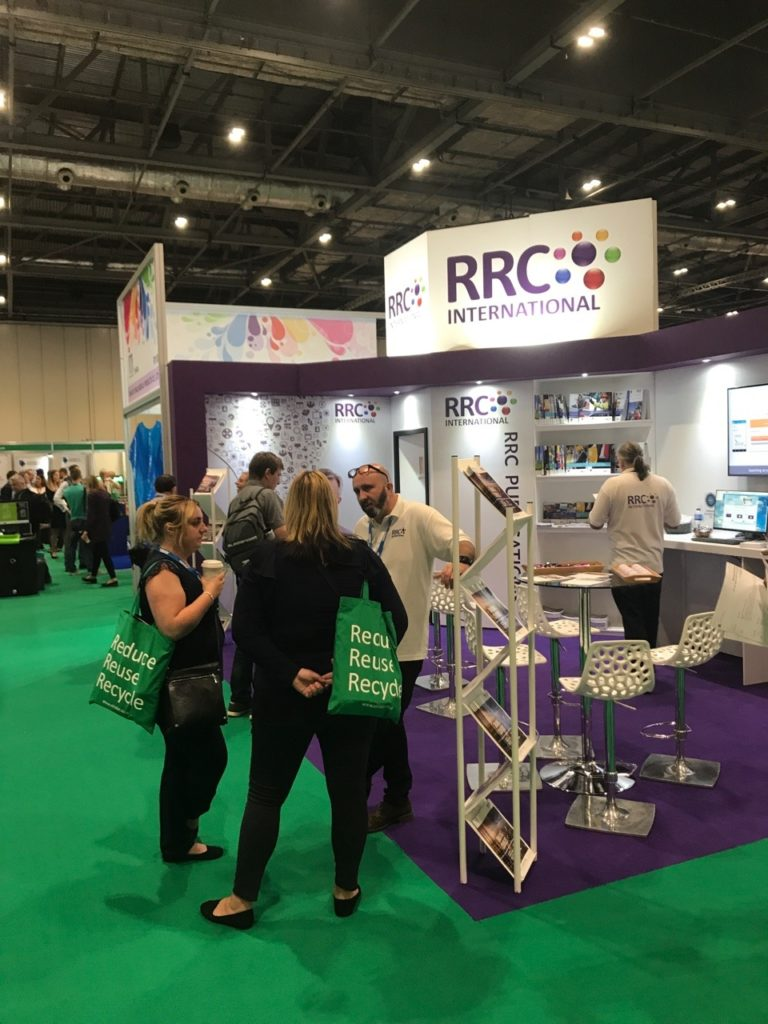 RRC's stand last year at The Safety and Health Expo 2018