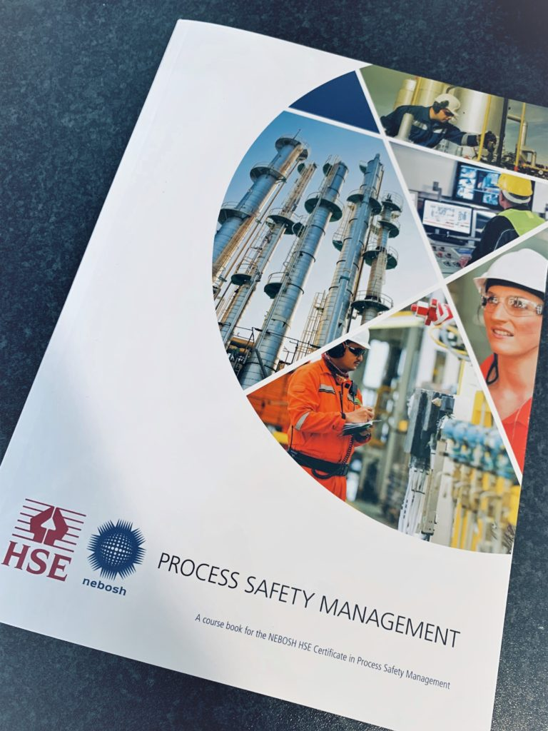 NEBOSH HSE Process Safety Management text book