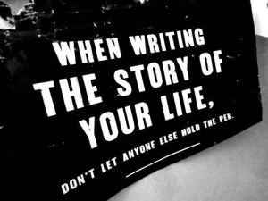 Write the story of your life