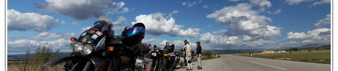 "Balkan Trip 2015, 3/3 – ""Four-Some"", how NOT to keep good intentions and another motorcycle outage…"