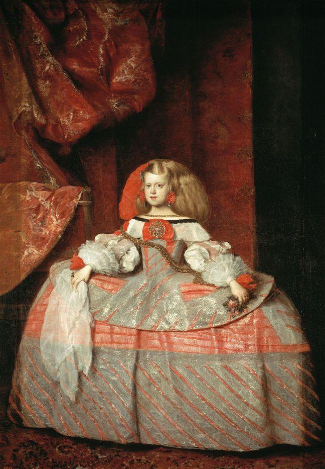 Инфантата Маргарита, Веласкес, 1660 г.