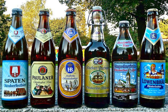 Видовете бира на Октоберфест