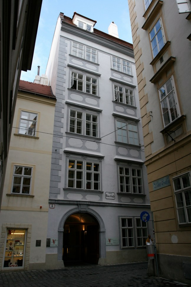 Mozart's house in Wien