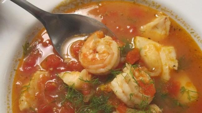 Люта рибена супа