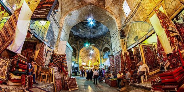 Базарът на Шираз