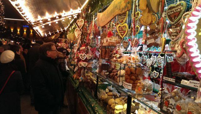 Коледен базар в Мюнхен
