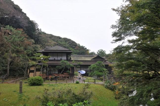 """Град Камакура, градината """"Санкей"""""""