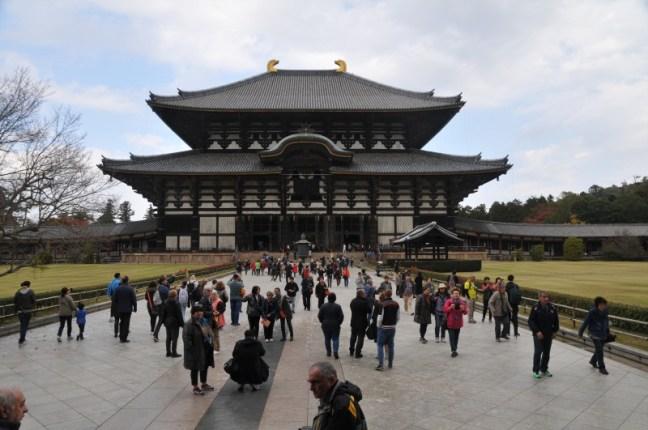 """Град Нара, храм """"Тодайджи"""" - най-голямата дървена конструкция в света"""