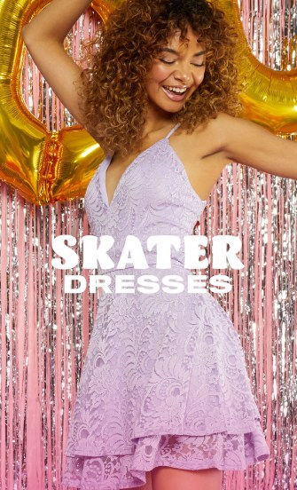 homecoming dress skater