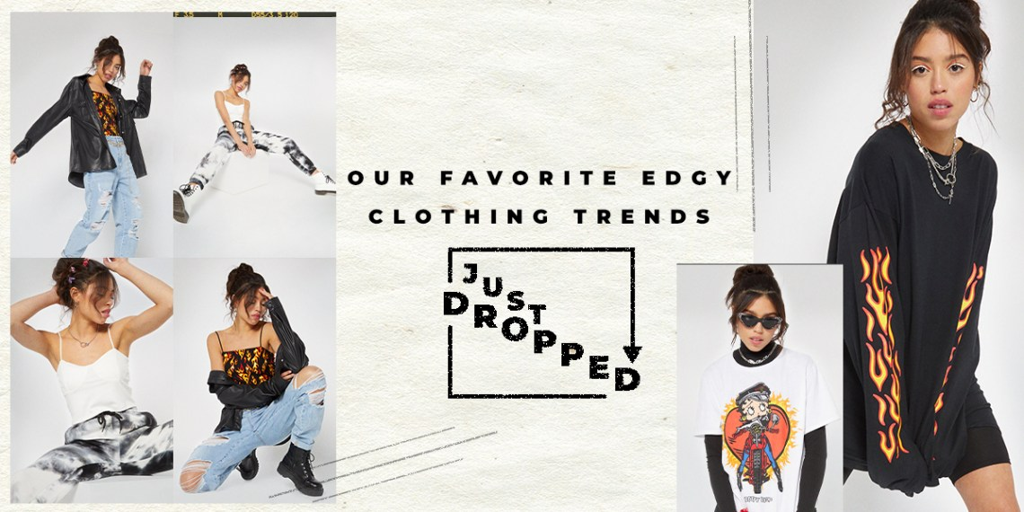 edgy clothing trends