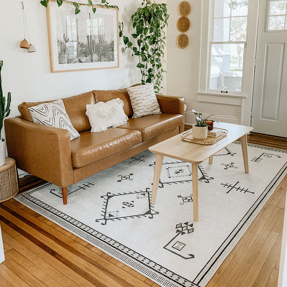 How Big Should Your Living Room Rug Be Ruggable Blog