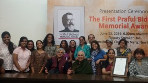PARI receives the first Praful Bidwai Memorial journalism award
