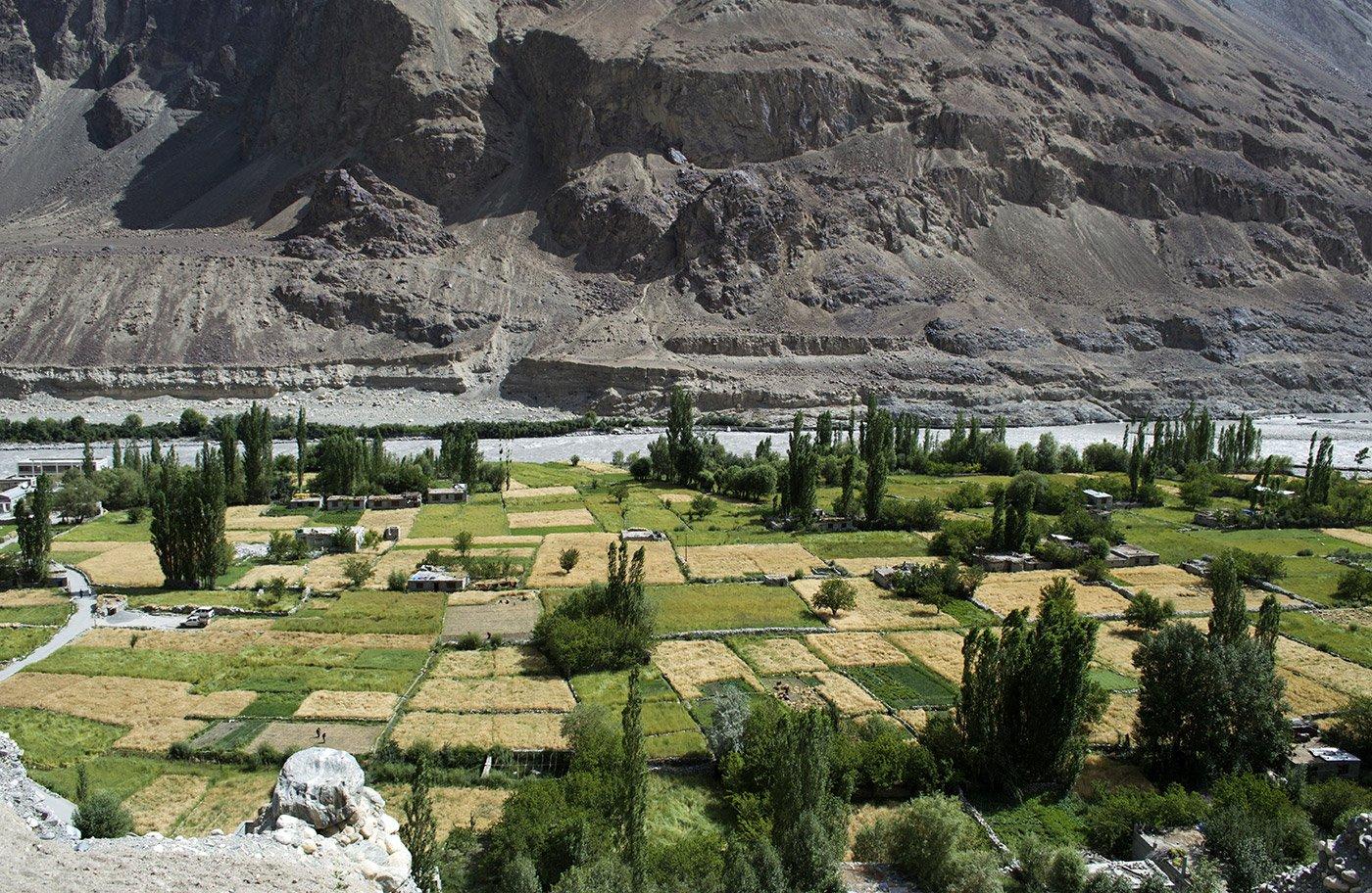 Turtuk village, in the high-altitude Nubra Valley near the LoC