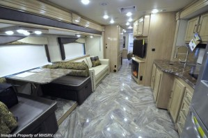 2018 Coachmen Sportscoach 408DB dining kitchen flooring
