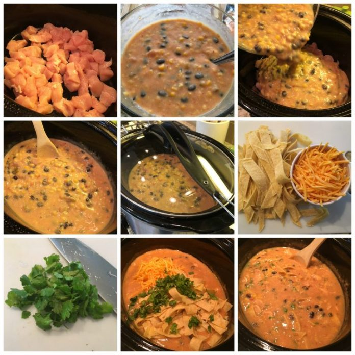 Slow Cooker Soups : chicken tortilla slow cooker soup