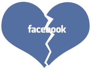 Facebook break-up