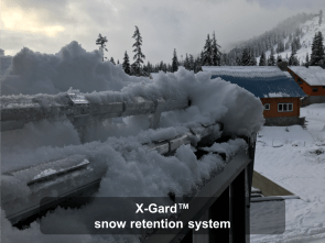 X-Gard™ snow retention system