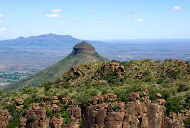 Camdeboo National Park incorporates the Valley of Desolation