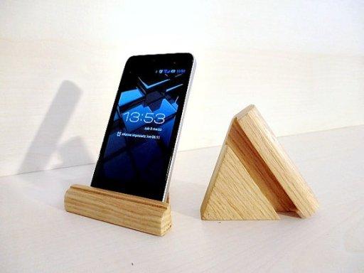 portacellulare-legno