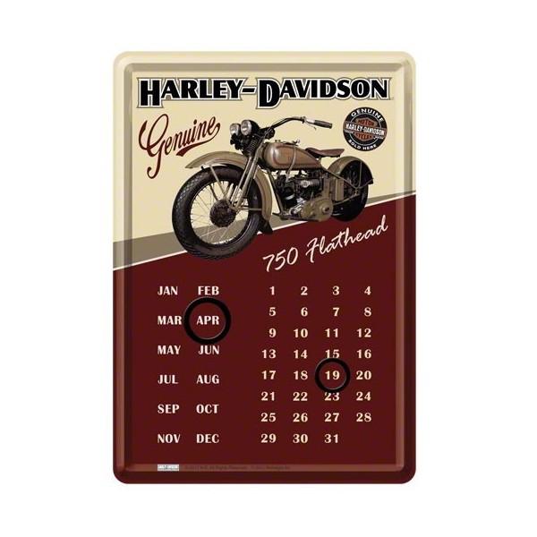 calendario-perpetuo-da-tavolo-harley-davidson-flathead