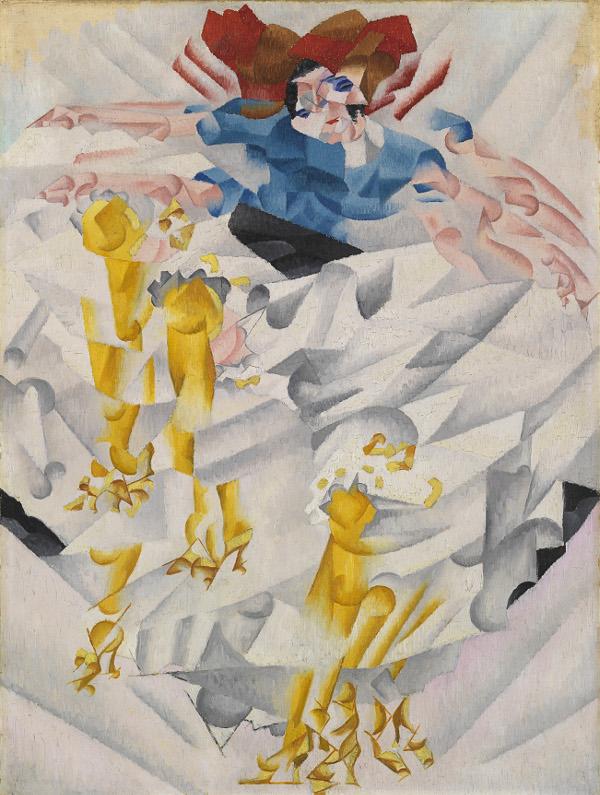 Severini Gino La chahuteuse 1912 olio su tela cm 60x45 MuseoNovecento.jpg
