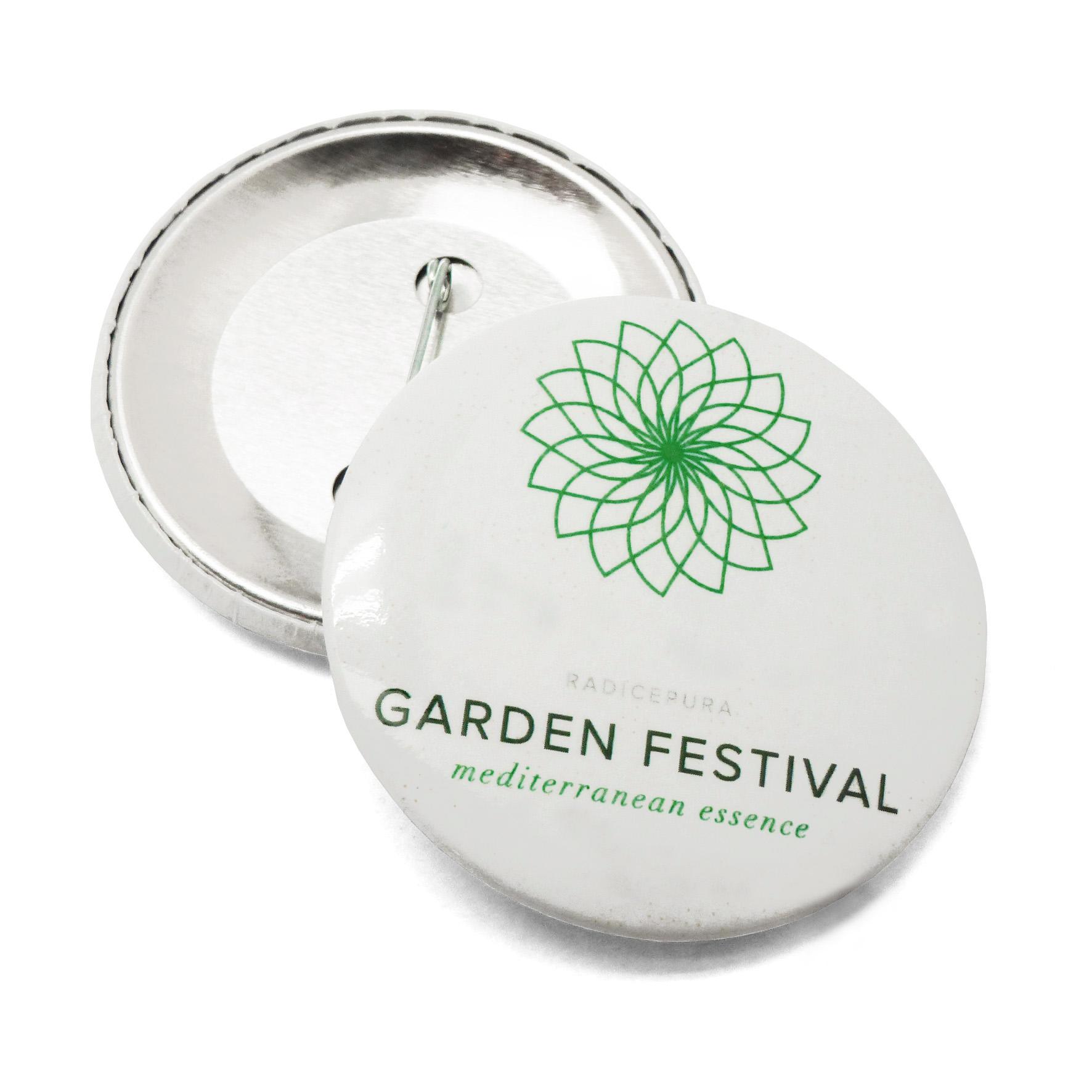 Spilla per RadicePura Garden festival