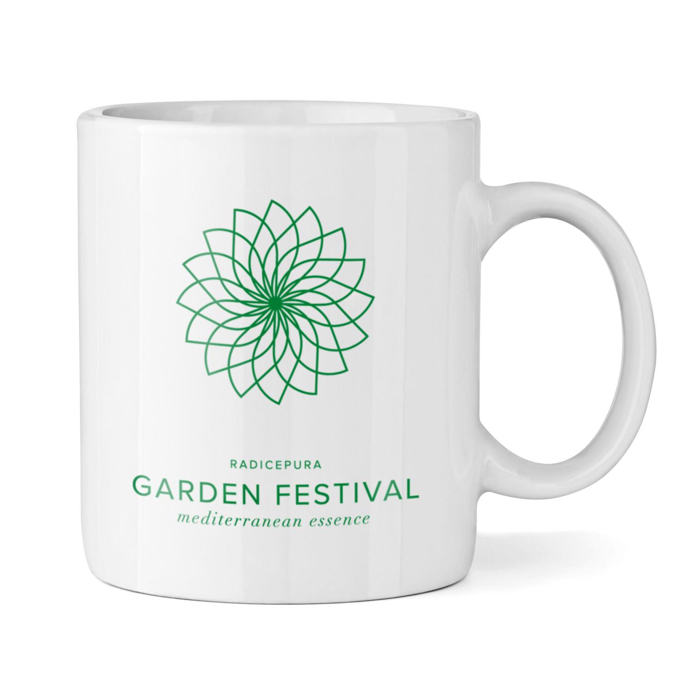 Tazza personalizzata per RadicePura Garden festival