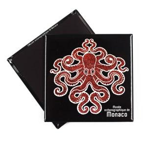 magnete-personalizzato-polipo-rosso-museo-oceanografico-monaco-sadesign