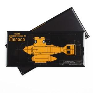 Magnete personalizzato sottomarino del Museo Oceanografico di Monaco