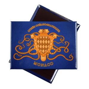 Magnete personalizzato con stemma del Museo Oceanografico di Monaco