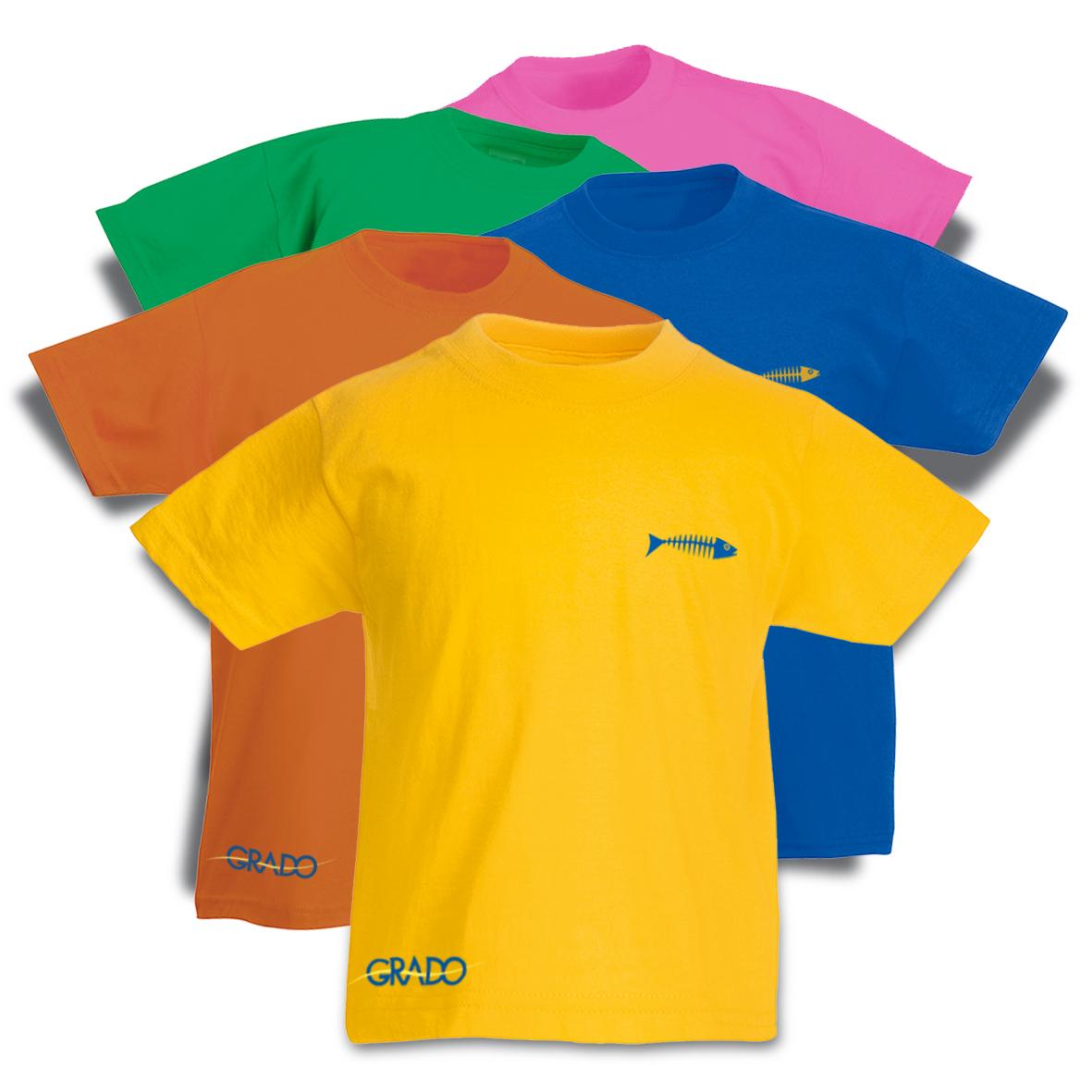 T-shirt bambino realizzata per GIT GRADO