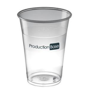 Bicchiere in plastica per eventi - personalizzabile