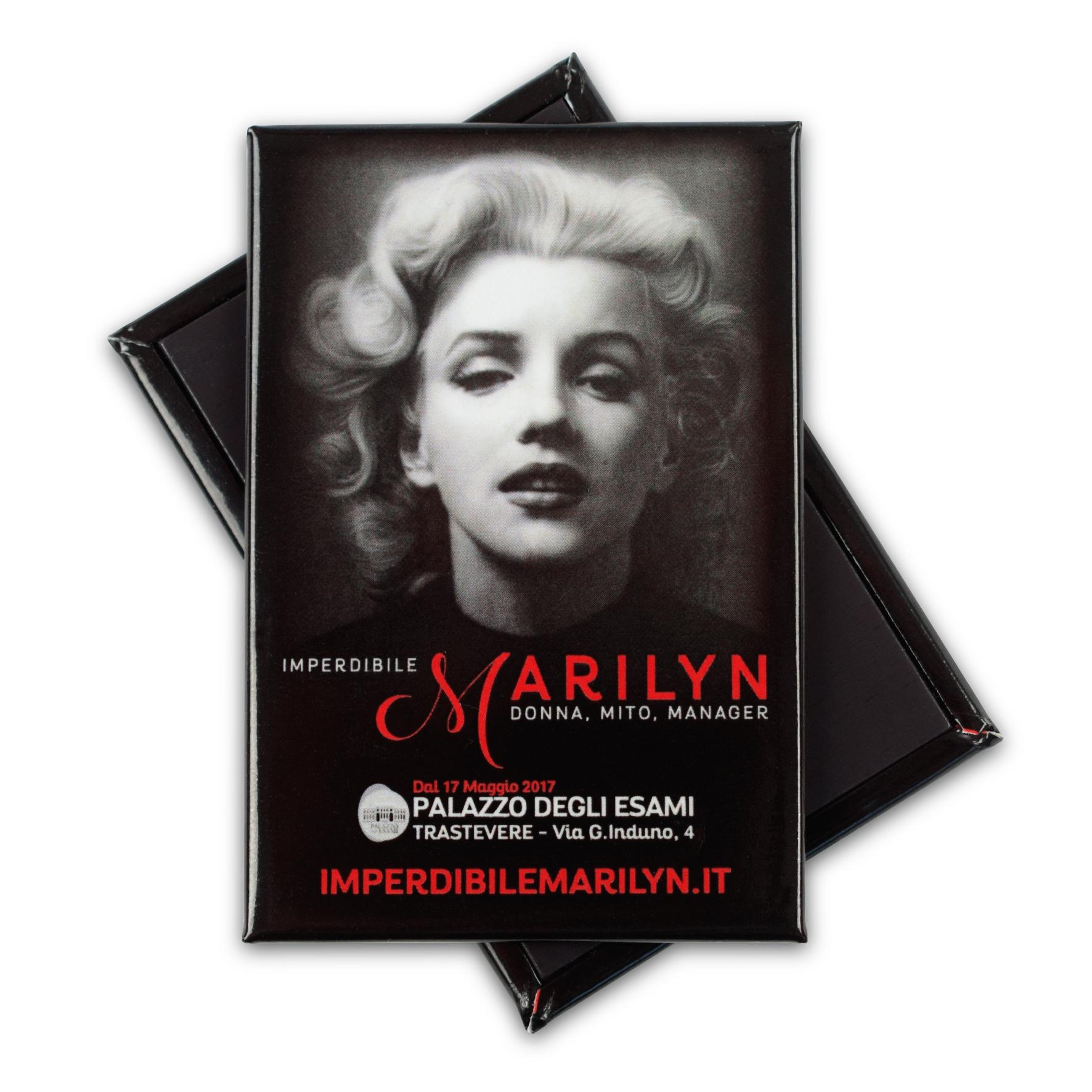"""Magnete personalizzato per """"Imperdibile Marylin"""""""