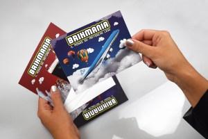 Cartoline personalizzate Brikmania Roma