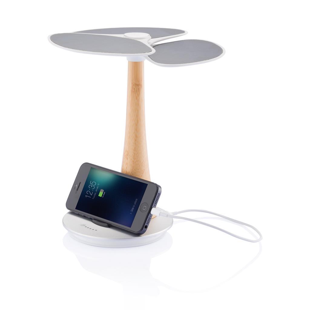 Powerbank solare a forma di albero. Di design ed elegante.