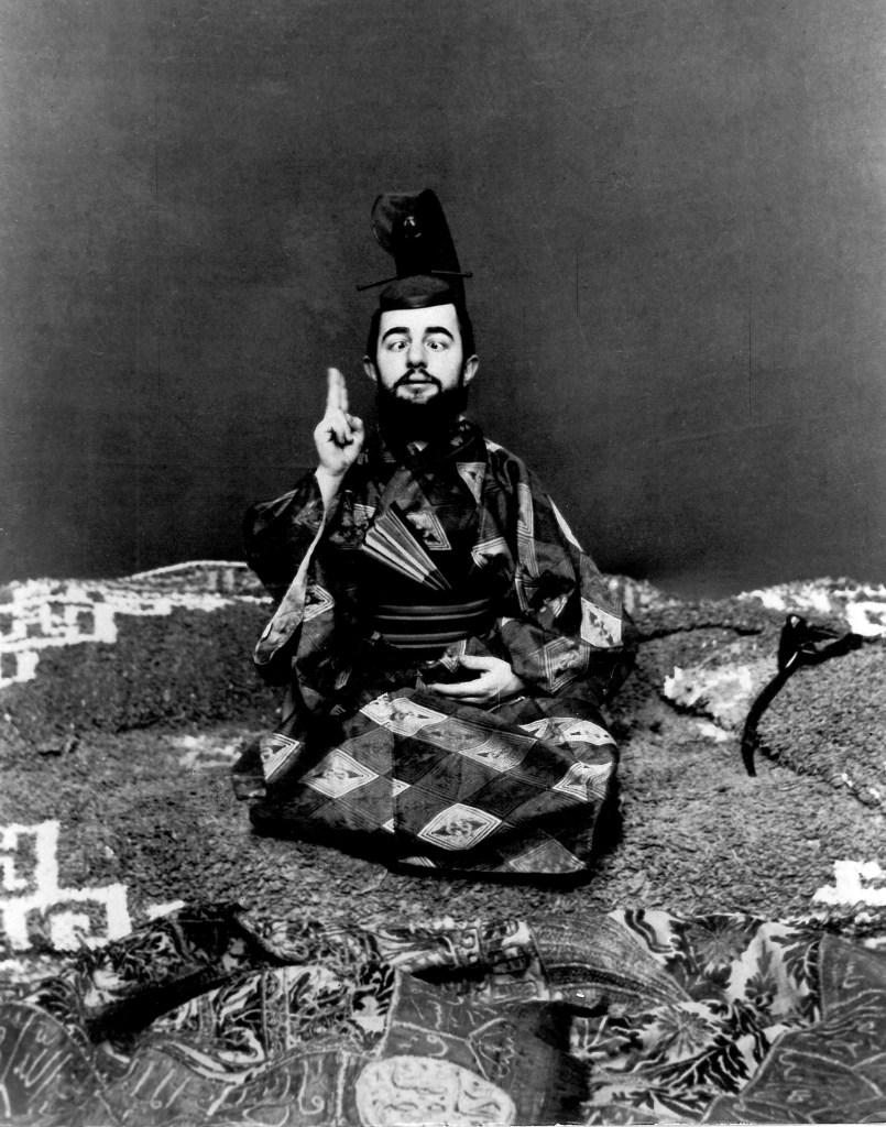 Lautrec strabico in abito giapponese