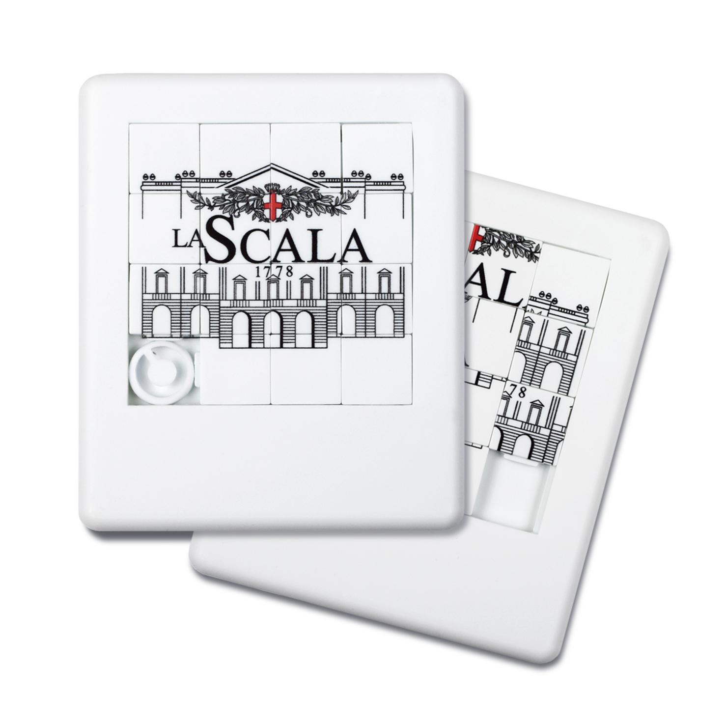 Gioco del 15 con logo teatro la Scala
