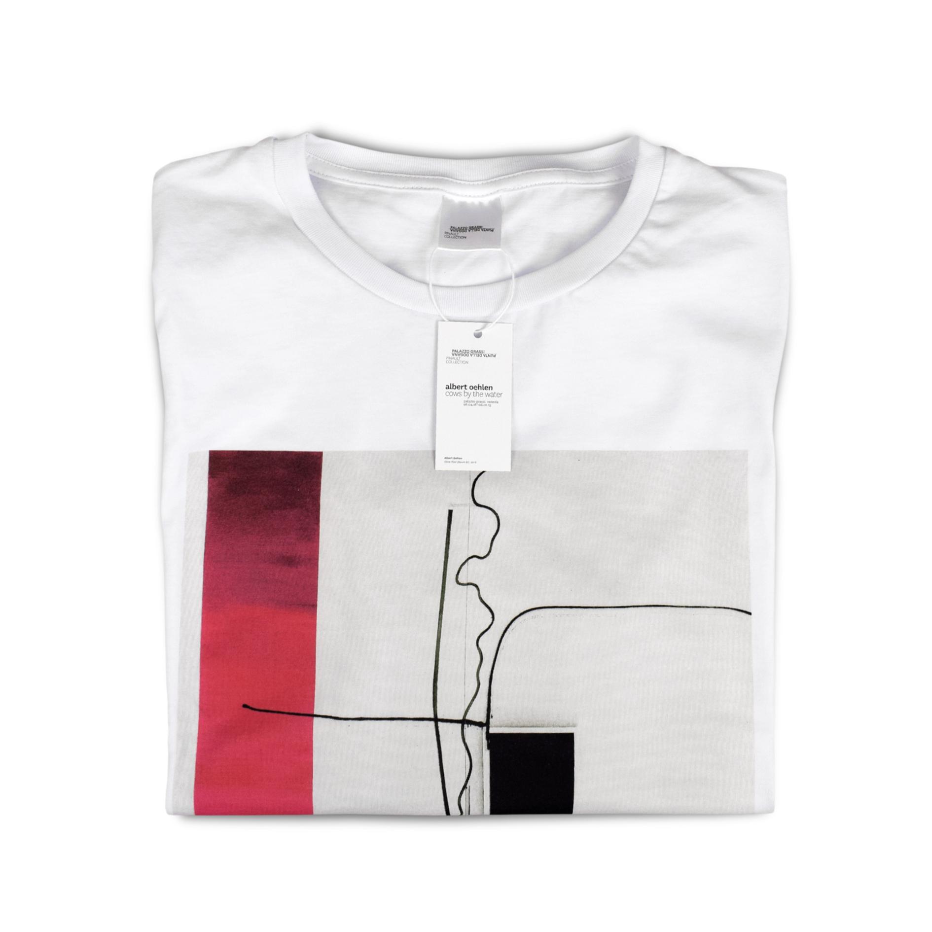 "T-shirt personalizzata per ""Cows by the Water"" a Palazzo Grassi"