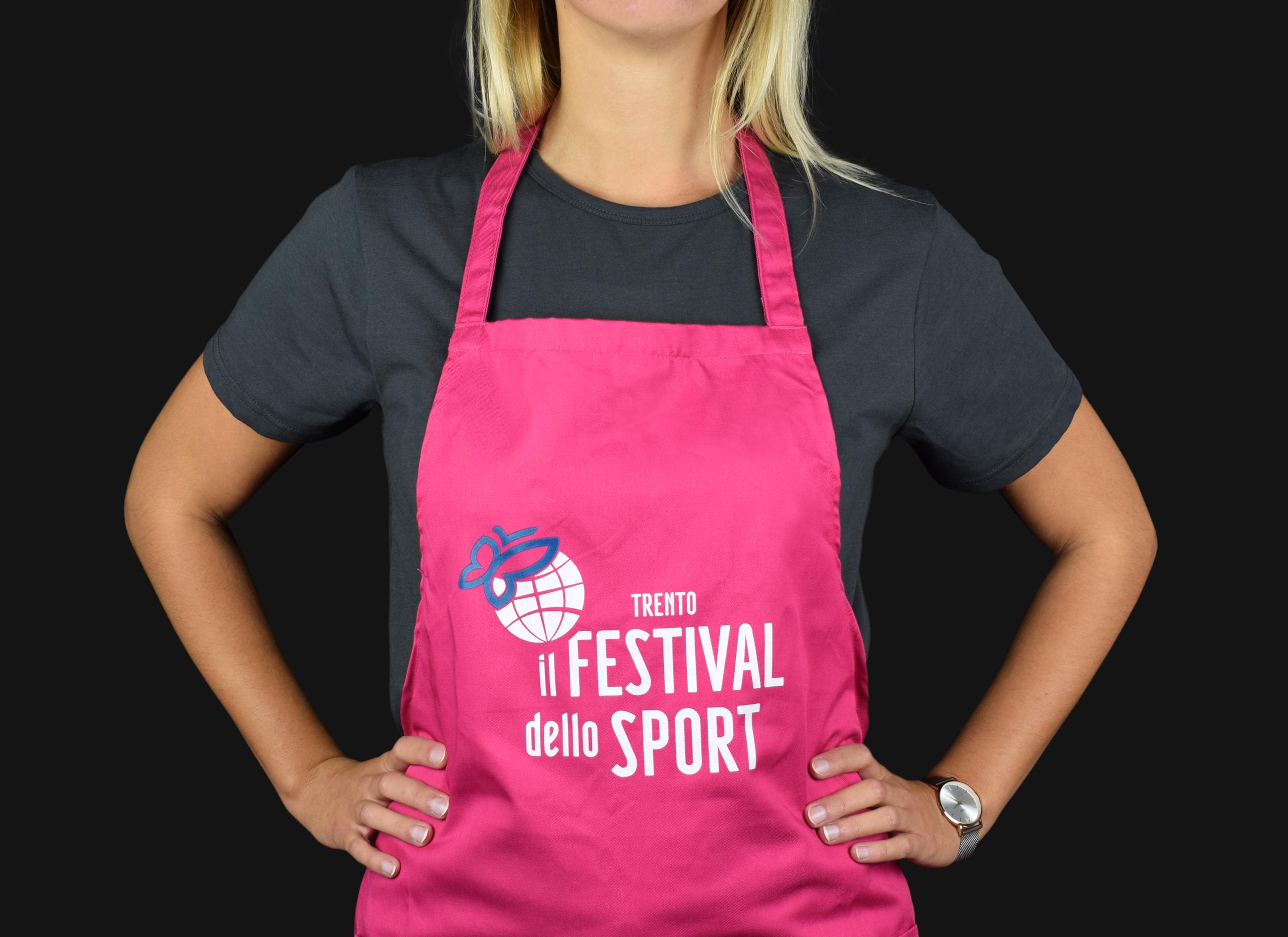 Grembiule personalizzato Festival dello sport 2018